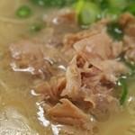 元祖長浜屋 - 肉