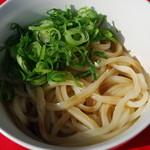 道久製麺所 - 醤油うどん(某有名店のダシ醤油)