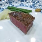 17612236 - 鹿児島牛のヒレステーキ