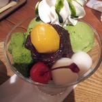 横濱茶房 つくしんぼ - あんみつ
