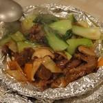 パンダ飯店 - 牛バラと野菜の煮込み鍋980円