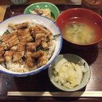 みちのく - 穴子丼定食  900円