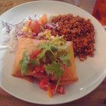 ノースカフェ - 挽肉と野菜のトルティーヤ