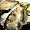 まんざら - 料理写真:釧路町仙鳳祉村老者舞の殻付蒸し牡蠣は1個150円 入荷待ち中。失礼してます