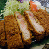 庄内 - 料理写真:黒豚 特上 とろロースかつ定食