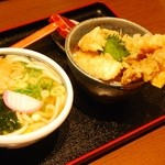 さぬきうどん ゆう庵 - 料理写真:にぎわい天丼定食