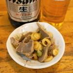 馬力 - 馬力漬(199円)砂肝とネギの漬物
