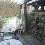 cafe KO-BA - その先にドッグランがあります