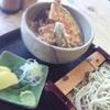 ゑび寿家 - 料理写真:ミニ天丼とせいろ950円