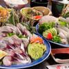 浜商 - 料理写真:大分の旬の鮮魚を楽しむ『筑後季節のお刺身御膳』 豊後水道をの旬の海の幸である「関サバ」「関アジ」、地元のかれいなどを楽しめます。※3日前まで要予約
