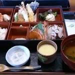 北海道 - 「おまかせランチ」(\997)+茶碗蒸し(\105)