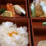北海道 - 「おまかせランチ」のイクラご飯