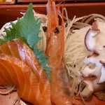 北海道 - 「おまかせランチ」の刺身