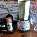 北海道 - テーブル上