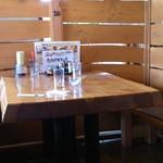 北海道 - テーブル
