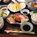 吟寿司 - おまかせ御膳。限定20食