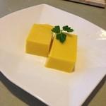 吟寿司 - 手作りパンプキンのムース
