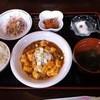 故郷 - 料理写真:麻婆豆腐定食