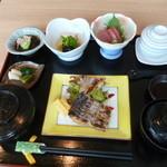 天久割烹いわい - 料理写真:太刀魚の幽庵焼