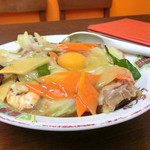 大龍軒 - 料理写真:大龍軒丼(五目丼)