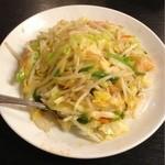 萬香館 - 台湾風野菜炒め ¥580