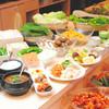 ハングル・タイガー・ダイニング - 料理写真:おかわり自由!ナムル+サラダ+デザート バー