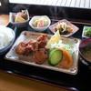 ながはら - 料理写真:「からあげ定食」(500円)。とっても魅力的でしょ?