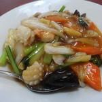 興隆 - ラーメンセットの中華丼