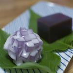 御菓子処 さゝま - 和生菓子 紫陽花と水ようかん