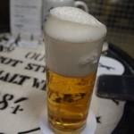 ビールスタンド重富 - 完成(参度注ぎ)
