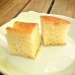ラ・ピーニャ - ランチセットのパン