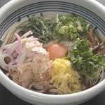 梅田はがくれ - 料理写真:ぶっかけうどん 750円