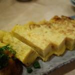 築地ビッグ寿司 - 卵焼き