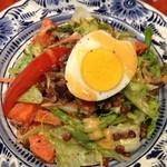エコ ロロニョン - 6回目2013年3月9日オフ会 レンズ豆のサラダ