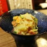 恕庵 - ポテトサラダ、具も多くマヨネーズの塩梅が素晴らしい。。