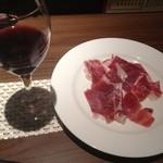 ぼくらの食卓 - 料理写真:イベリコ豚の生ハム  1000円