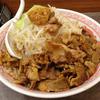 景勝軒 - 料理写真:肉そばふじ麺 2013年3月