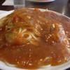 サヴァラン - 料理写真:1)カントリー+ウインナー2本のせの大盛り