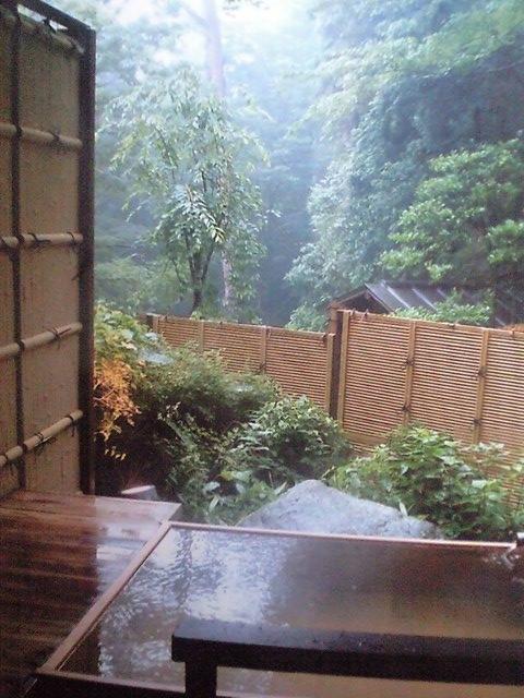 箱根小涌谷温泉 水の音