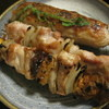 名炭亭 - 料理写真:焼き鳥3種