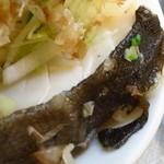 ニューボンボン - タラ入り湯豆腐450円