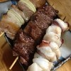 恵比寿田じま - 料理写真:豚串 牛串 タコ串