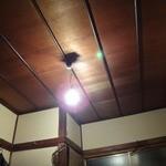 あぶさん - 2階御座敷の天井です。