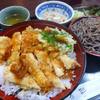 味彩 - 料理写真:ささみ天丼セット 950円