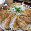 三宝亭 - 料理写真:三宝豚餃子定食 ランチタイムは580円