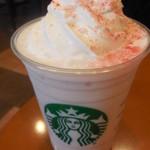 スターバックス・コーヒー - さくらホワイトチョコレートフラペチーノ