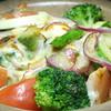弁慶 - 料理写真:温野菜のチーズ焼き