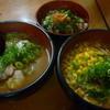 ラーメン朋 - 料理写真:ラーメンと半丼