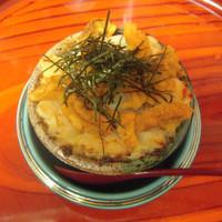 鮨 さるたひこ - 人気のうにほたて味噌焼