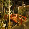 ふわり - 料理写真:お店の中に庭園、作りました。